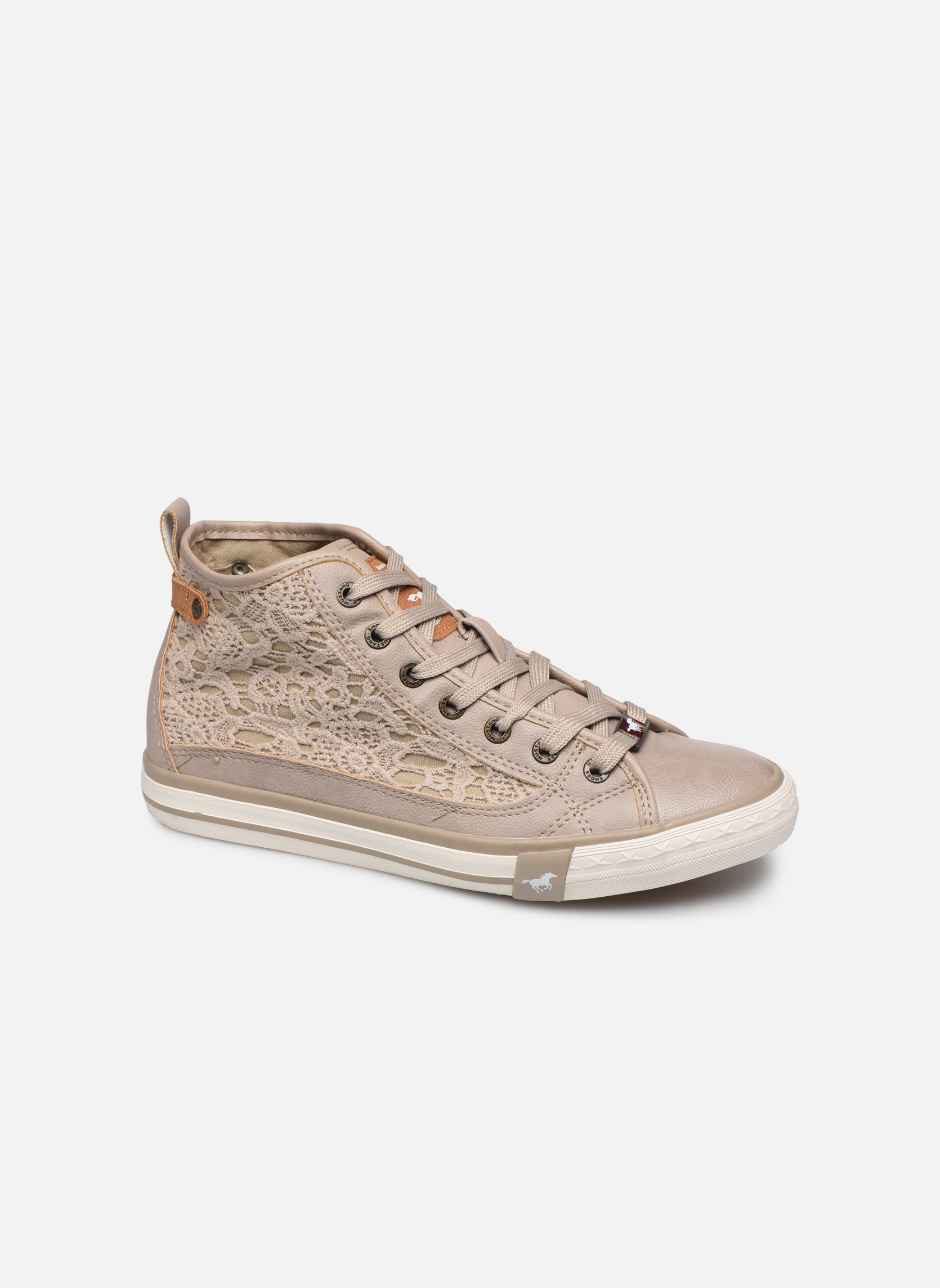 Sneakers Mustang shoes Nola Beige vedi dettaglio/paio