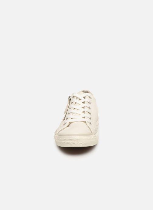 Baskets Mustang shoes Malsa ZIP Blanc vue portées chaussures
