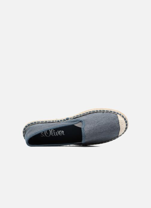 Espadrilles S.Oliver Sapotille Blue view from the left