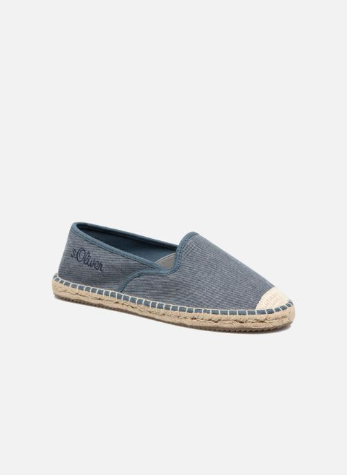 Espadrilles S.Oliver Sapotille Blue detailed view/ Pair view
