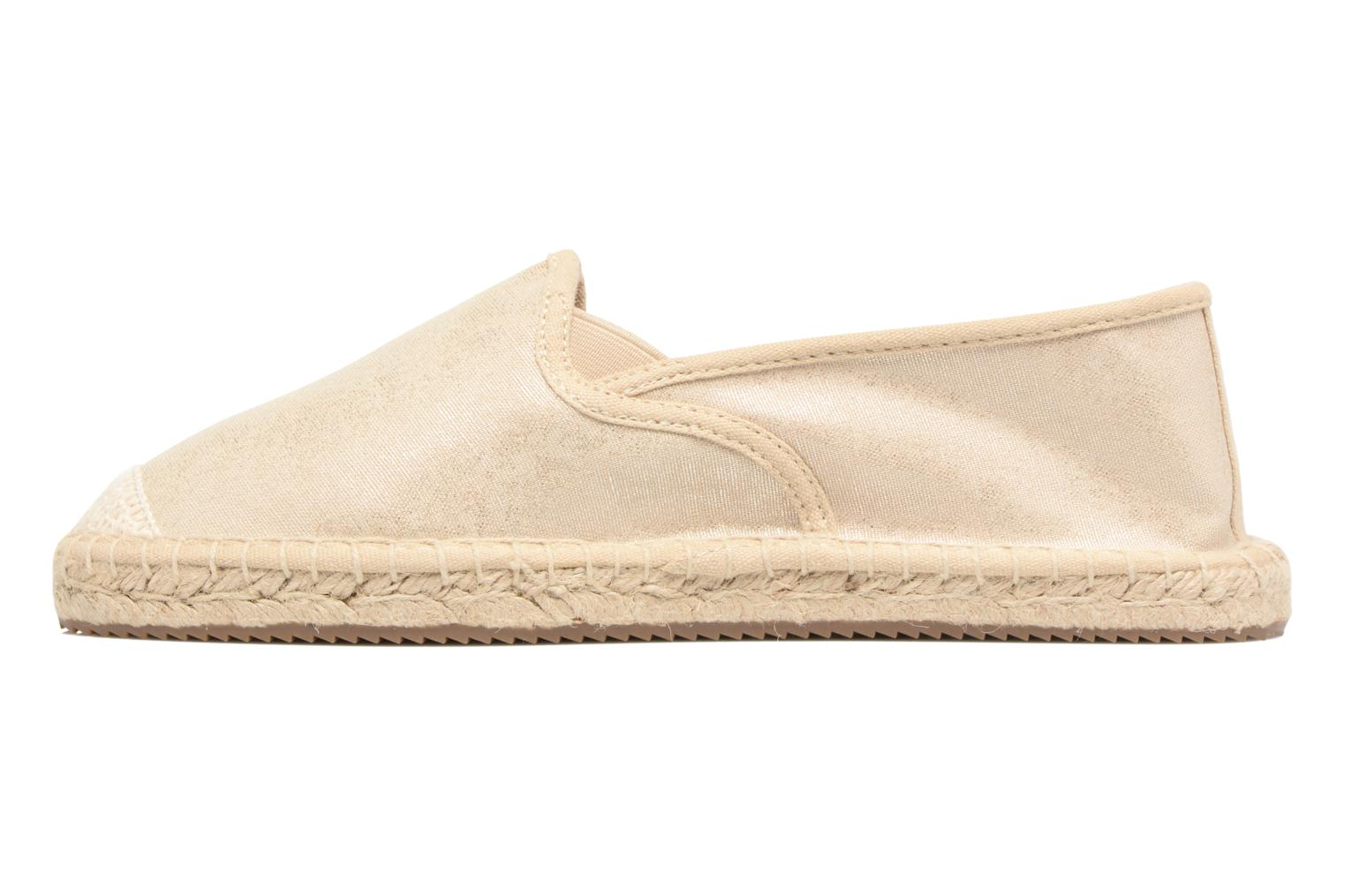 Espadrilles S.Oliver Sapotille Bronze and Gold front view
