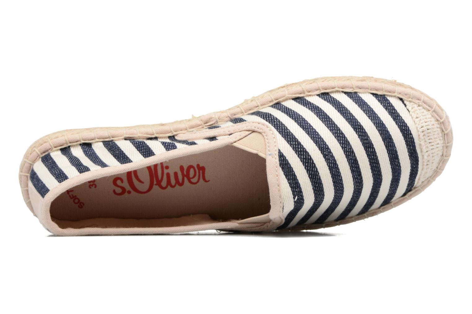 Espadrilles S.Oliver Sapotille Multicolor view from the left