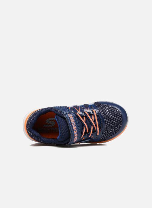 Baskets Skechers Skech-Lite Fast Stepz Bleu vue gauche
