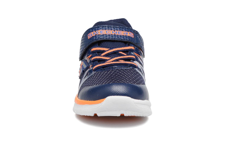 Sneakers Skechers Skech-Lite Fast Stepz Azzurro modello indossato