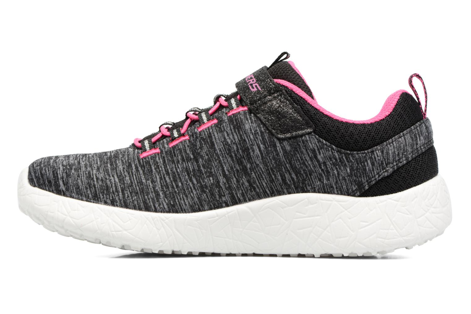 Baskets Skechers Burst Equinox Gris vue face