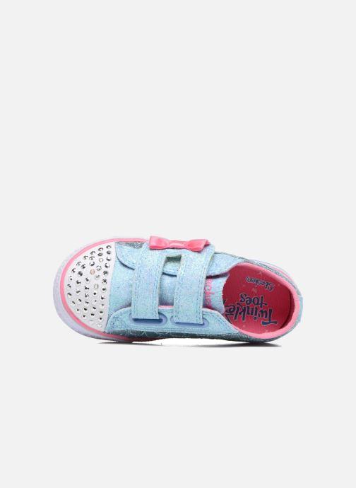 Baskets Skechers Shuffles Starlight Style Gris vue gauche