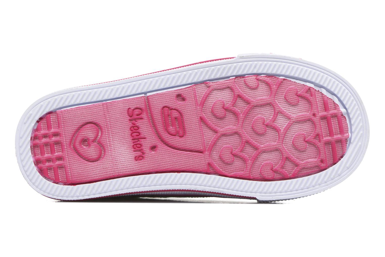 Sneakers Skechers Shuffles Starlight Style Grigio immagine dall'alto
