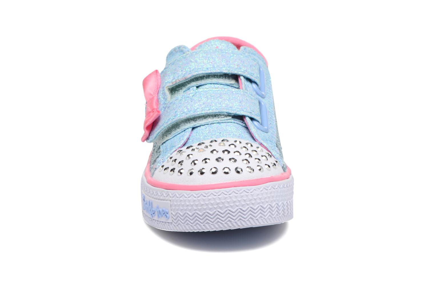 Baskets Skechers Shuffles Starlight Style Gris vue portées chaussures
