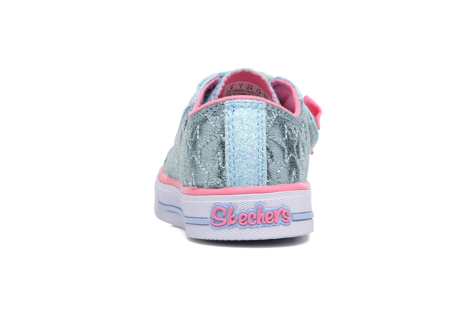 Baskets Skechers Shuffles Starlight Style Gris vue droite