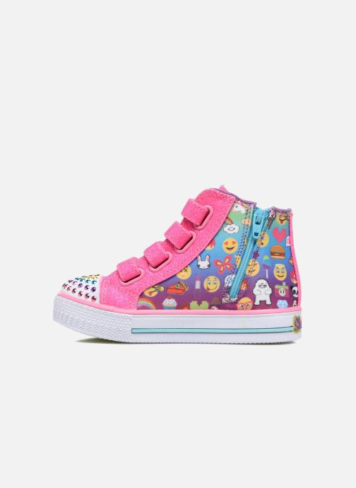 Sneakers Skechers Shuffles Baby Talk Multicolore immagine frontale
