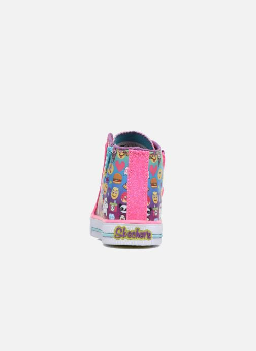 Sneakers Skechers Shuffles Baby Talk Multicolore immagine destra