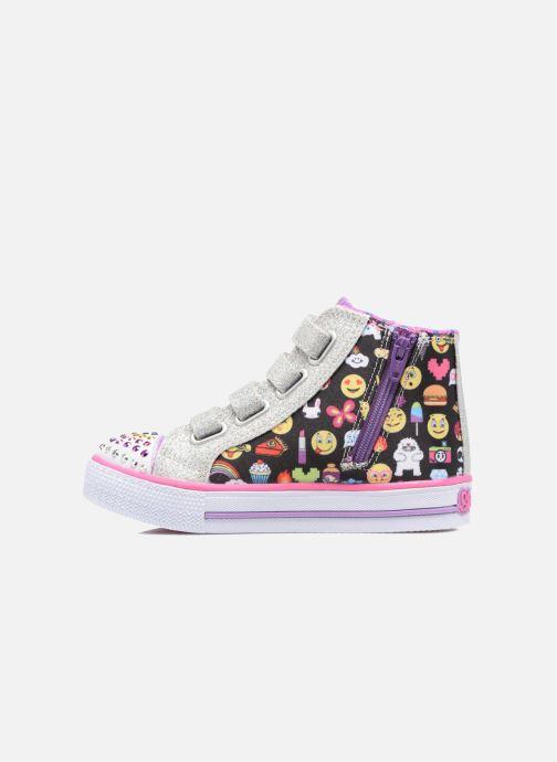 Sneakers Skechers Shuffles Baby Talk Multicolore immagine frontale