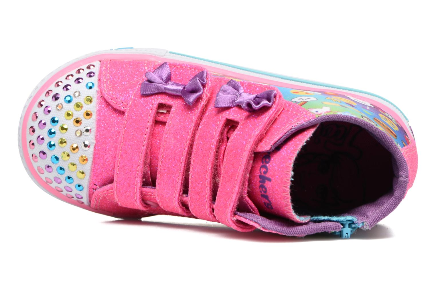 Sneakers Skechers Shuffles Baby Talk Multicolore immagine sinistra