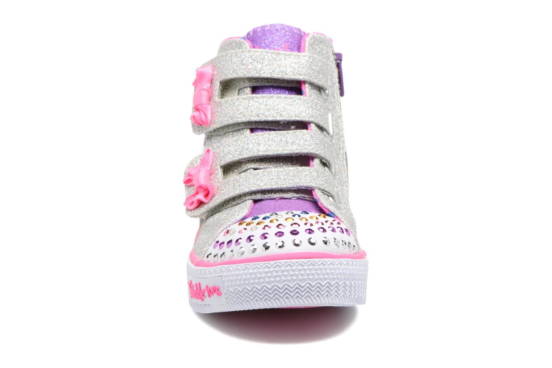 Baskets Skechers Shuffles Baby Talk Multicolore vue portées chaussures