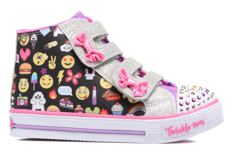 Baskets Skechers Shuffles Baby Talk Multicolore vue derrière