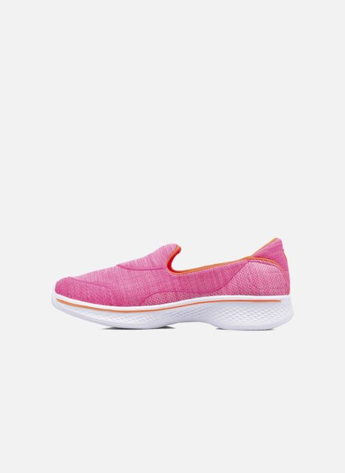 Baskets Skechers Go Walk 4 Speedy Sports Rose vue face