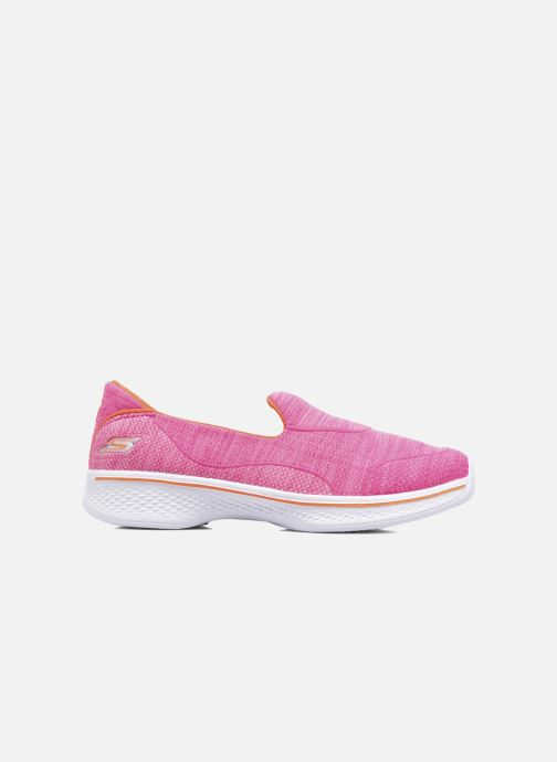 Baskets Skechers Go Walk 4 Speedy Sports Rose vue derrière