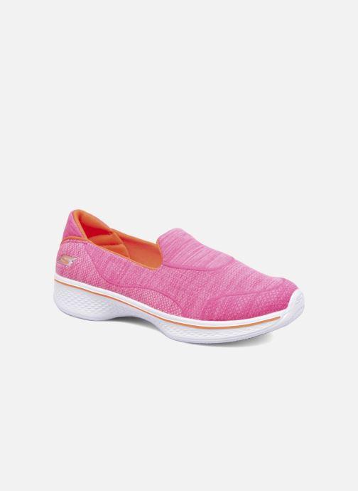 Baskets Skechers Go Walk 4 Speedy Sports Rose vue détail/paire