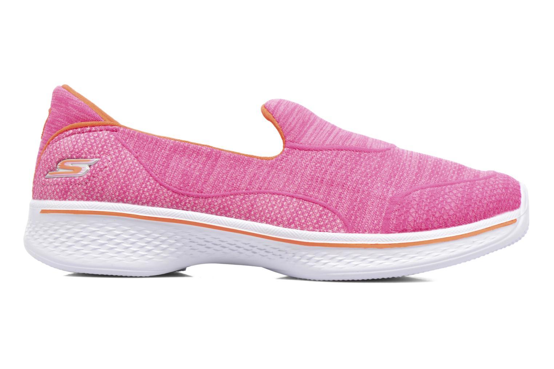 Sneakers Skechers Go Walk 4 Speedy Sports Roze achterkant