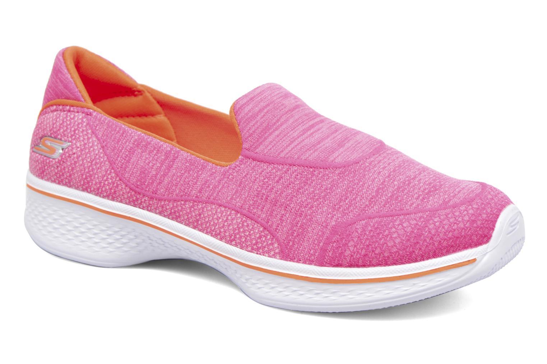 Sneakers Skechers Go Walk 4 Speedy Sports Roze detail