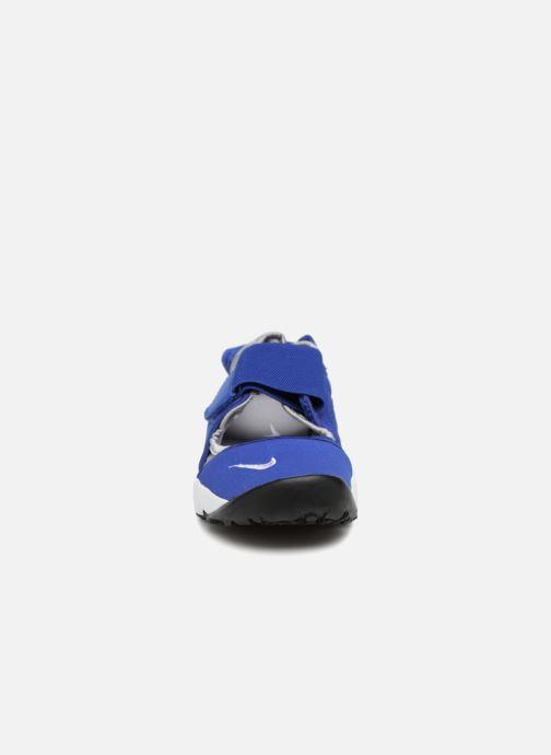 Sandales et nu-pieds Nike Rift (Gs/Ps Boys) Bleu vue portées chaussures