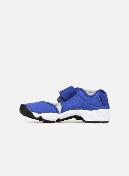 Sandales et nu-pieds Nike Rift (Gs/Ps Boys) Bleu vue face