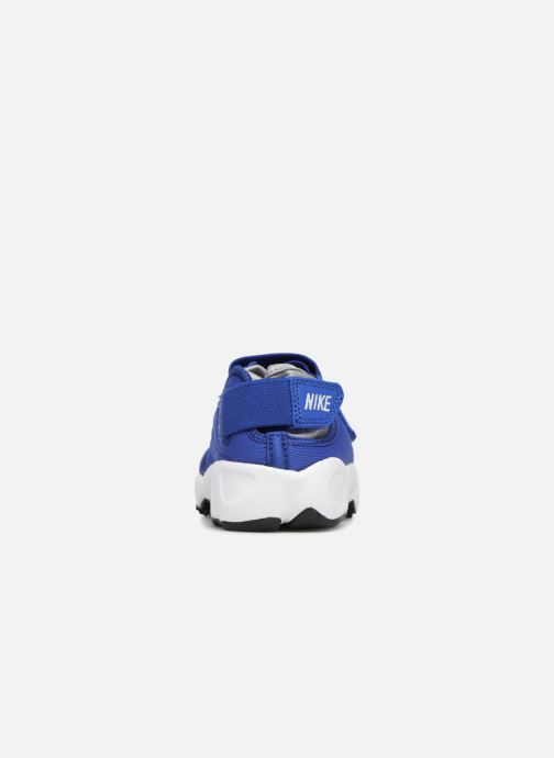 Sandals Nike Rift (Gs/Ps Boys) Blue view from the right