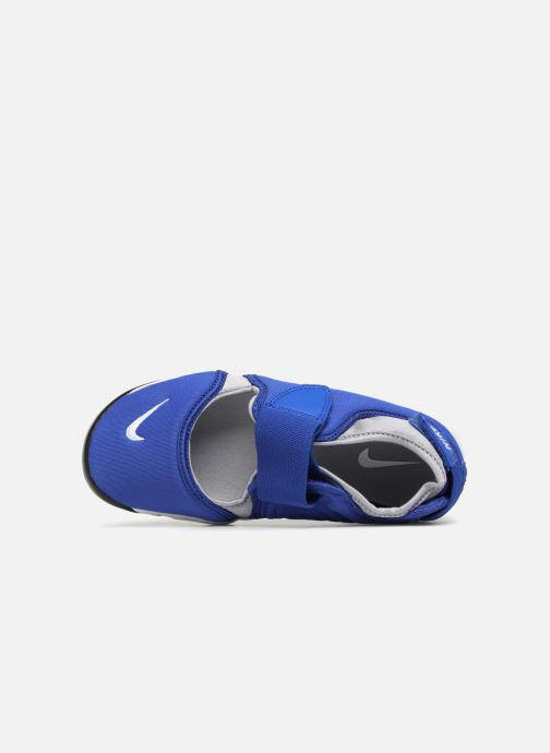 Sandals Nike Rift (Gs/Ps Boys) Blue view from the left
