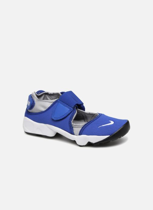 Sandals Nike Rift (Gs/Ps Boys) Blue detailed view/ Pair view