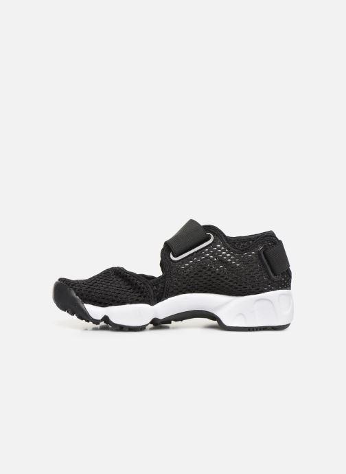 Sandalias Nike Rift (Gs/Ps Boys) Negro vista de frente