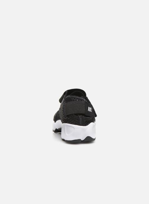 Sandalias Nike Rift (Gs/Ps Boys) Negro vista lateral derecha