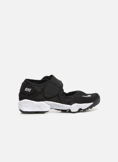 Sandalias Nike Rift (Gs/Ps Boys) Negro vistra trasera