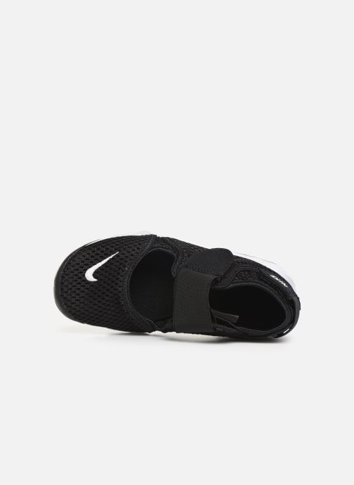 Sandalias Nike Rift (Gs/Ps Boys) Negro vista lateral izquierda
