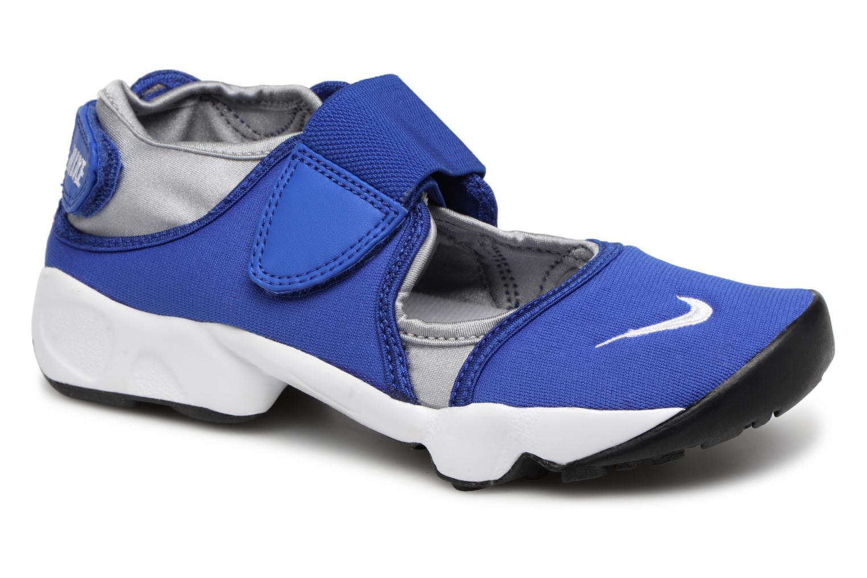 558d61d76e ... spain sandales et nu pieds nike rift gs ps boys bleu vue détail 8f5fa  6e380