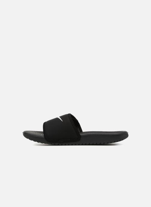 Sandales et nu-pieds Nike Nike Kawa Adjust (Gs/Ps) Noir vue face