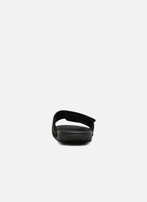 Sandales et nu-pieds Nike Nike Kawa Adjust (Gs/Ps) Noir vue droite