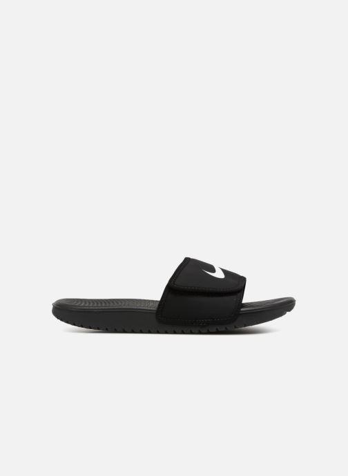 Sandales et nu-pieds Nike Nike Kawa Adjust (Gs/Ps) Noir vue derrière
