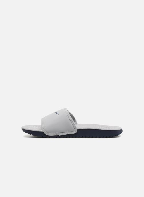 Sandalias Nike Nike Kawa Adjust (Gs/Ps) Blanco vista de frente