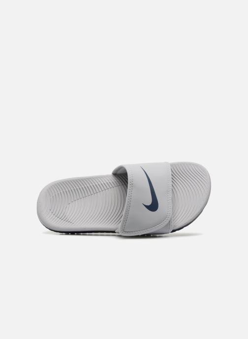 Sandalias Nike Nike Kawa Adjust (Gs/Ps) Blanco vista lateral izquierda
