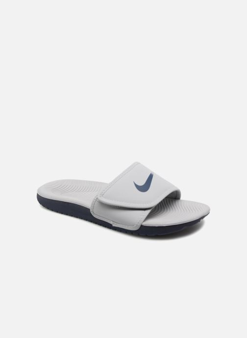 Sandalias Nike Nike Kawa Adjust (Gs/Ps) Blanco vista de detalle / par