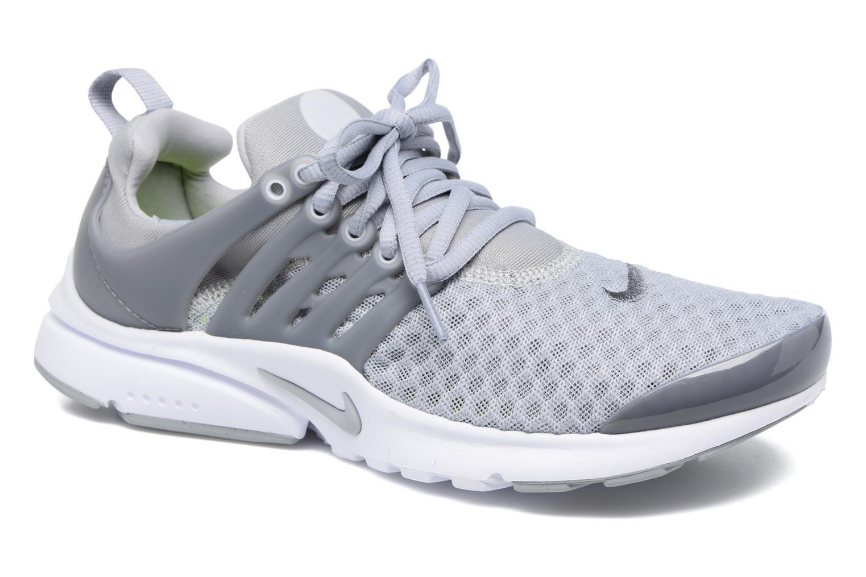 Baskets Nike Nike Presto Br (Gs) Gris vue détail/paire
