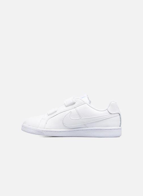 Deportivas Nike Nike Court Royale (Psv) Blanco vista de frente