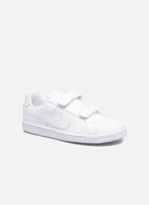 Baskets Nike Nike Court Royale (Psv) Blanc vue détail/paire
