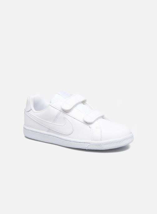 Trainers Nike Nike Court Royale (Psv) White detailed view/ Pair view