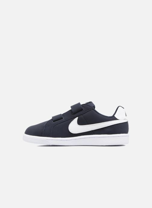 Trainers Nike Nike Court Royale (Psv) Black front view