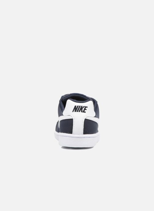 Trainers Nike Nike Court Royale (Psv) Black view from the right