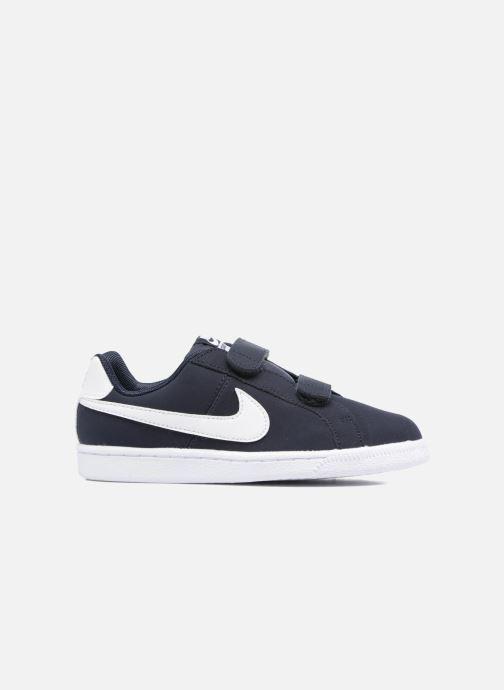 Trainers Nike Nike Court Royale (Psv) Black back view