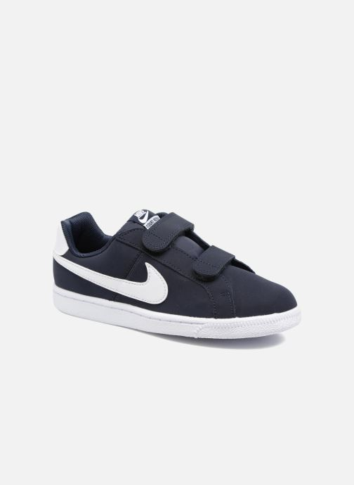 Trainers Nike Nike Court Royale (Psv) Black detailed view/ Pair view