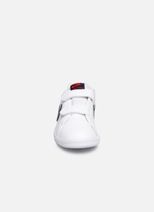 Deportivas Nike Nike Court Royale (Psv) Blanco vista del modelo