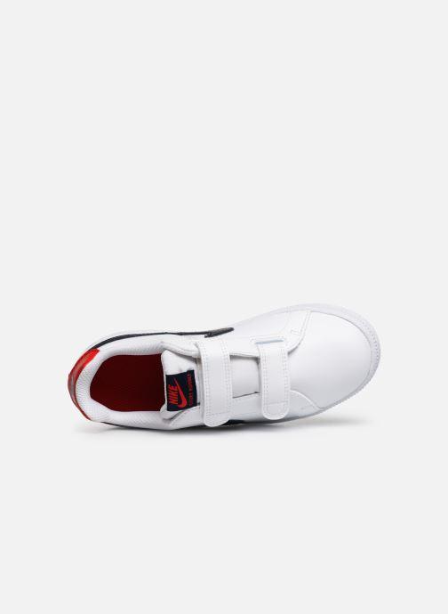 Deportivas Nike Nike Court Royale (Psv) Blanco vista lateral izquierda